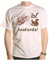 Squirrels Bastards! T-Shirt inspired by Blackadder