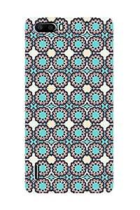 ZAPCASE PRINTED BACK COVER FOR HONOR 6 PLUS - Multicolor