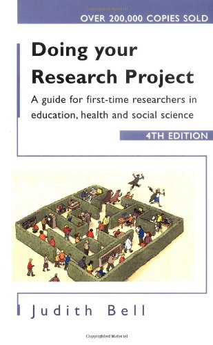 Title: Doing Your Research Project 4/e: A guide for first-time researchers in social science, education and health