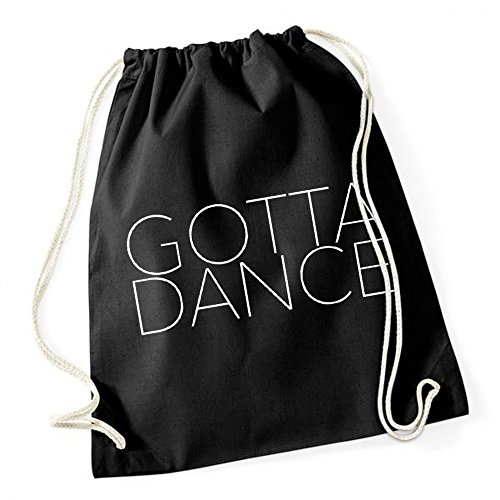 Gotta Dance Borsa De Gym Nero Certified Freak