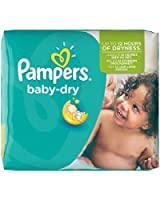 Pampers - Baby Dry - Couches Taille 5 Junior (11-25 kg) - Pack économique 1 mois de consommation x144 couches