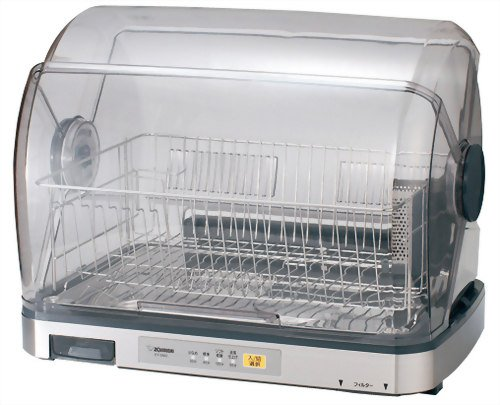 【Amazonの商品情報へ】ZOJIRUSHI 食器乾燥器 EY-SA60-XA ステンレス