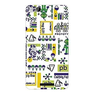 Garmor Designer Plastic Back Cover For Lava Iris X1 Beats