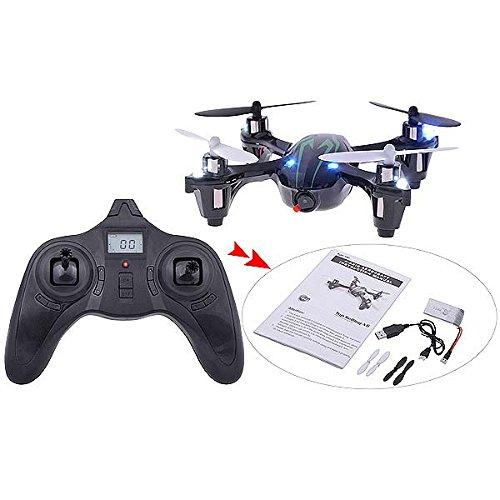 SeresRoad TopSelling X6 Mini 2.4G 4 Channel 6 Axis Gyro Video Recording RC Quadcopter Toy with 0.3MP Camera + LCD Screen Remote Control