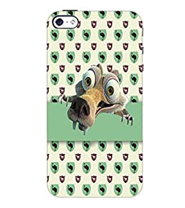 PrintDhaba Scrat D-5083 Back Case Cover for APPLE IPHONE 4 (Multi-Coloured)