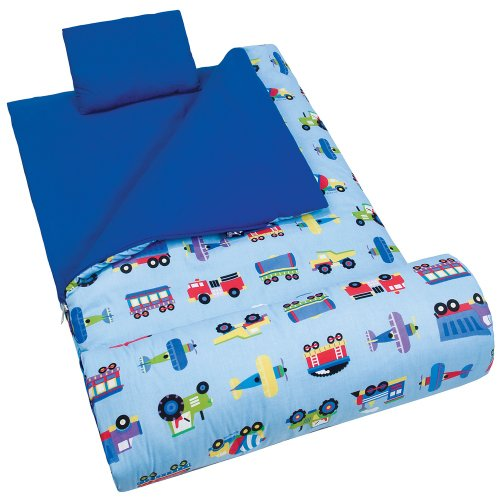 Trains, Planes Trucks Sleeping Bag
