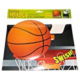 Basketball Sports Valentines Day Cards Mailbox for classroom exchange