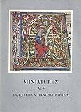 img - for Miniaturen Aus Deutschen Handschriften (1961 German Paperback Edition) book / textbook / text book