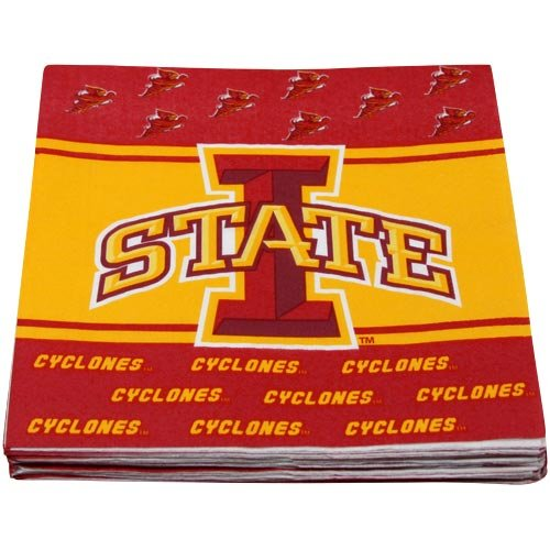 NCAA Iowa State Cyclones 16-Count Luncheon Napkins - 1