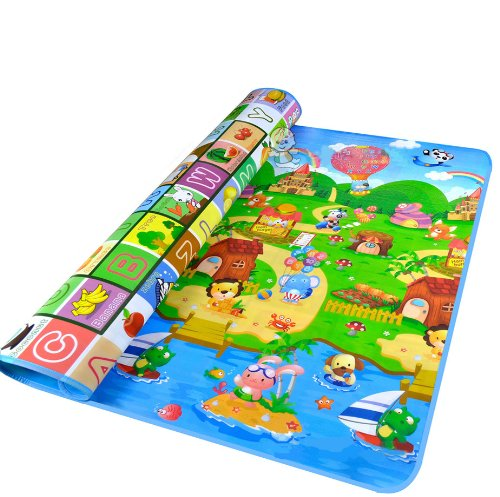 Purchase Lifemall 200*180*0.5cm Thickness Baby Crawling Mat Baby Crawling Pad/ Game Mat (A)