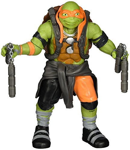 "Teenage Mutant Ninja Turtles Movie 2 Out Of The Shadows Michelangelo 11"" Figure"