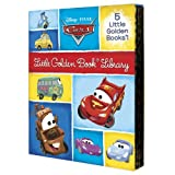 Cars Little Golden Book Library: Cars/Cars 2/Mater and the Ghost Light/Look Out for Mater!/Tractor Trouble (Disney/Pixar: Cars)