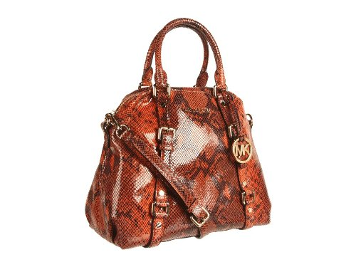 Michael Michael Kors Handbag, Bedford Python Bowling Satchel