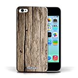 STUFF4 Phone Case / Cover for Apple iPhone 5C / Driftwood Design / Wood Grain Effect/Pattern Collection