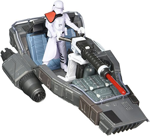 Star Wars E7 First Order Snowspeeder Action Figure (Wooky Entertainment Inc compare prices)