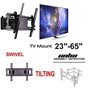 Amazon Com Unho Double Arm Cantilever Bracket Wall Mount
