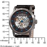 Stuhrling Original Men's 107D.33151 Delphi Helios Skeleton Automatic Black Dial Watch
