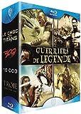 echange, troc Coffret guerriers de légende - Le choc des titans + 300 + 10 000 + Troie [Blu-ray]