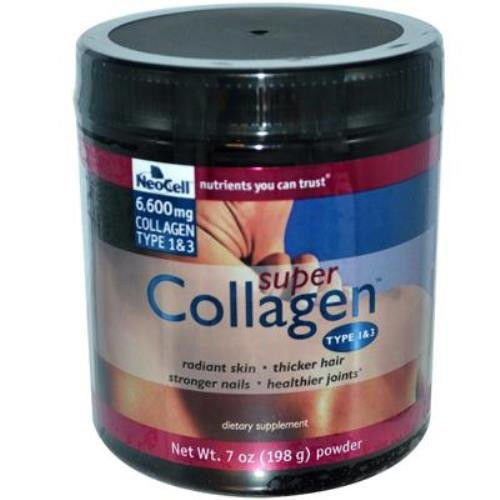 3 X Neocell Super Collagen Type 1 & 3 7 Oz Powder, Skin Joints Bones Hair Health Good Product