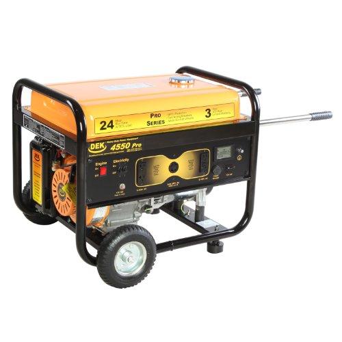 DEK 4550 Watt, 6000 Surge Watt Commercial Grade Generator