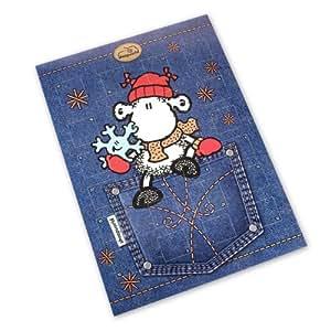 Sheepworld Adventskalender Blue Wool, 1er Pack (1 x 75 g)