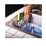 3 Pc Sink Tub Sponge Holders Work Easy Suction Cup Kitchen Wash Dry Clean New !!