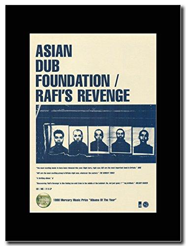 Asian Dub-Foundation Rafi s Revenge. Magazine Promo su un supporto, colore: nero