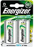 Energizer Nimh D Rechargeable Batteries X2