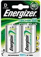 Energizer 635675 Pile Rechargeable Power Plus 2 HR20 2500 mAh