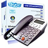 Sogatel - Skype compatible USB desktop speaker desk phone - LCD screen - Windows 7, Vista, XPby Sogatel
