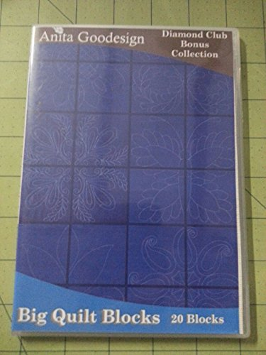 Anita Goodesign Diamond Club Bonus Design Pack Big Quilt Blocks