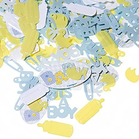 Boy Baby Shower Confetti by Century Novelty (English Manual)