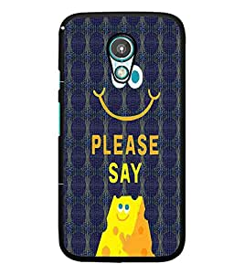 PrintDhaba Quote D-4773 Back Case Cover for MOTOROLA MOTO G2 (Multi-Coloured)