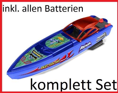 RC ferngesteuertes Speedboot / Rennboot – BATMAN – Lizenz-Ware – komplett Set ! inkl. Fernbedienung und Batterien sofort startklar kaufen