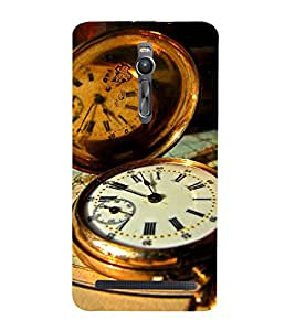 Vizagbeats pocket watch Back Case Cover for Asus Zenfone 2::Asus Znfone 2 ZE550ML