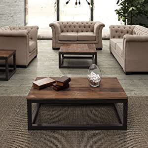 Civic Center Square Coffee Table Set Living