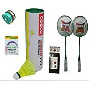 Cosco CB 119 Combo Baminton Kit WITH FREE SPORTSHOUSE WRIST BAND - B01JAJK2WC