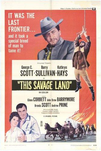 Il Land Savage-Poster In Movie 11 x 17 cm x 28 cm, 44 Barry Sullivan Brenda Andrew Scott Prine Kelly Corcoran Katherine Squire