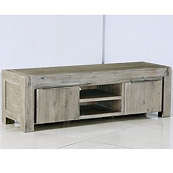 Mobile TV in legno massiccio