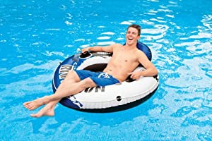 INTEX River Run I Inflatable Water Floating Tubes - 2 Pack from INTEX