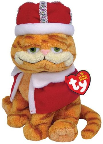 Ty HIS MAJESTY the King Garfield