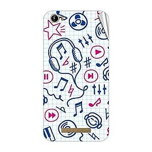 Garmor Designer Mobile Skin Sticker For Intex Aqua Play - Mobile Sticker