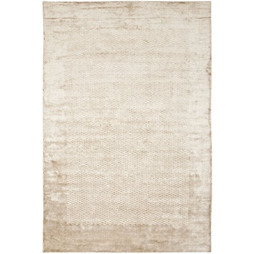 Safavieh Mirage Collection MIR721C Hand-Knotted Taupe Wool Area Rug, 6 feet by 9 feet (6' x 9')