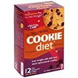 51ko3RO2dpL. SL160  Hollywood Cookie Diet Meal Replacement Cookies, Chocolate Chip, 1.4 Ounce Cookies  (Pack of 12)