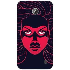 Printland Devil Phone Cover For Nokia Lumia 630