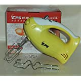 200W 5-Speed Electric Egg Beater Hand Mixer With 2x Beaters