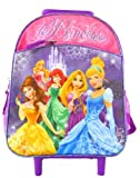 Disney Princess Rolling Toddler Backpack - 12 Inch Wheeled Backpack