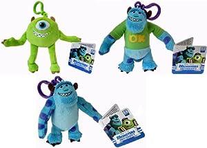 "Disney Pixar Monsters University 4"" Plush Keyring"