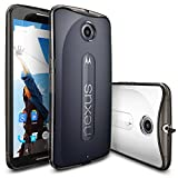 Ringke Shock Absorption Scratch Resistant Drop Protection Bumper Case Cover for Nexus 6 - Smoke Black