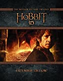 The Hobbit Trilogy - Extended Edition [Blu-ray 3D + 2D] [Region Free] [UK Import]
